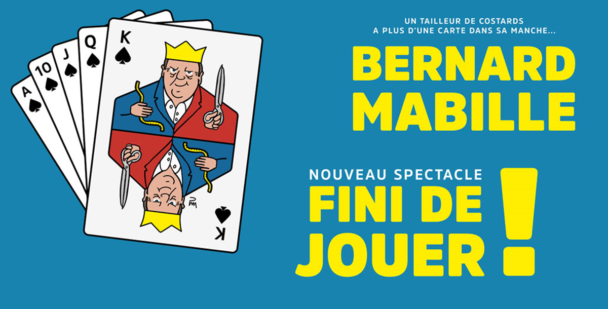 Déjeuner spectacle Bernard Mabille