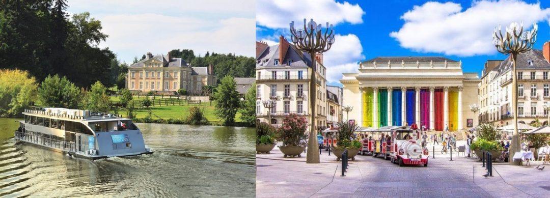 Nantes et Déjeuner croisière sur l'Erdre